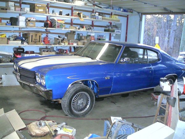 Craigslist find a 1970 chevelle powered by for Garage chevrolet luxembourg