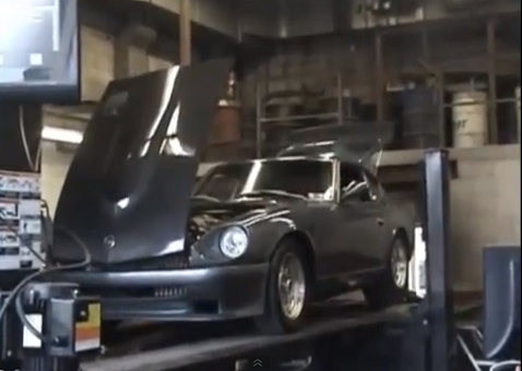 Dyno Video: Watch A (Claimed) Stock Bottom End, Turbocharged 4.8 LS Engine Put Down 700+ HP To The Tire Of A 1971 Datsun 240Z