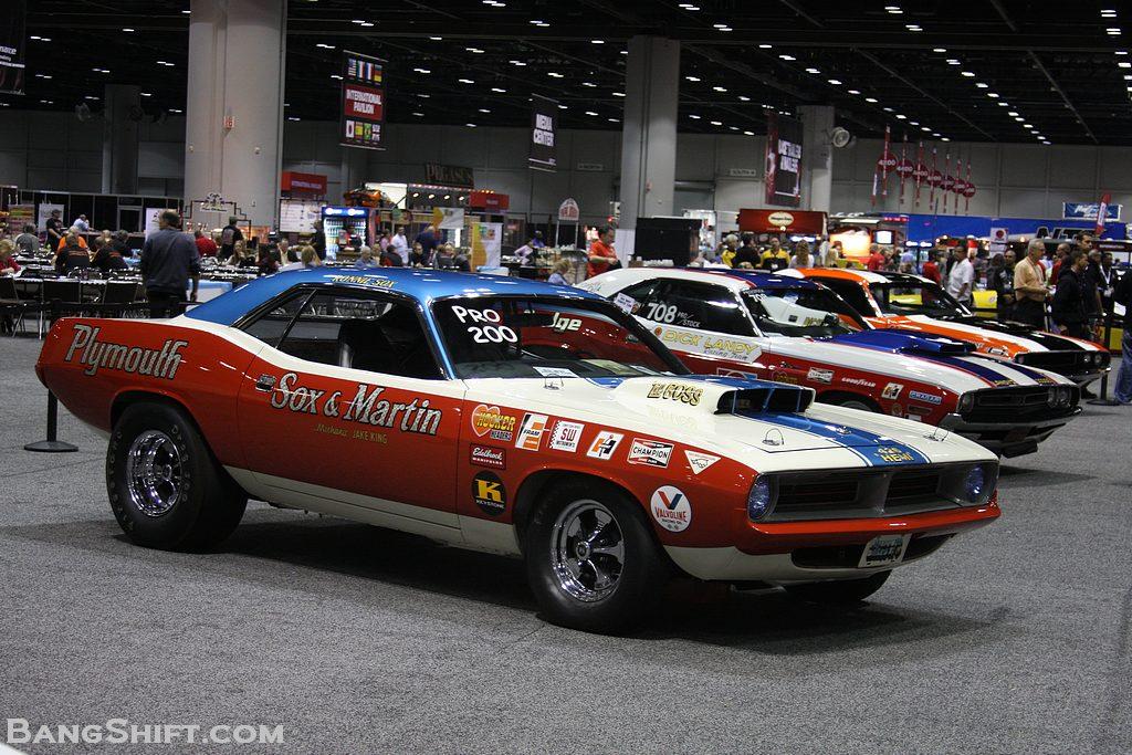 PRI 2012 U2013 A Gallery Of Cool And Classic Mopar Race Cars