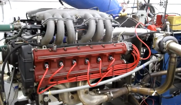 Exotic Dyno Video: Watch A Twin Turbo 12-Cylinder Ferrari Testarossa Engine Scream Its Guts Out On The Dyno