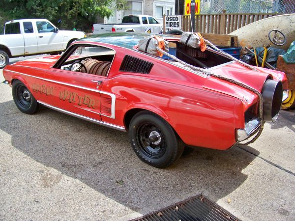 Craigslist Find: The Krispy Kritter Jet Powered 1967 Mustang – Vintage Jet Machine With Little Documented History and Lots of Mystery!
