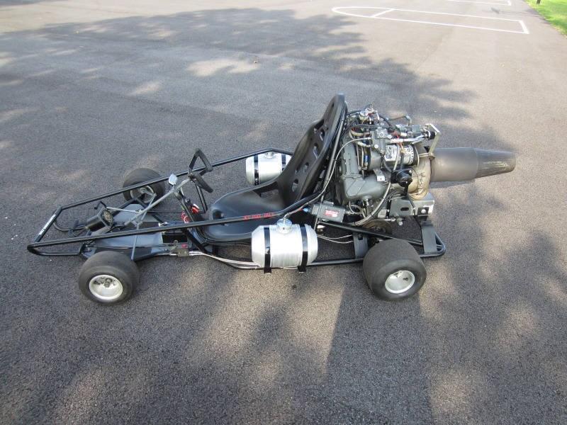 how to build a jet engine from a turbocharger