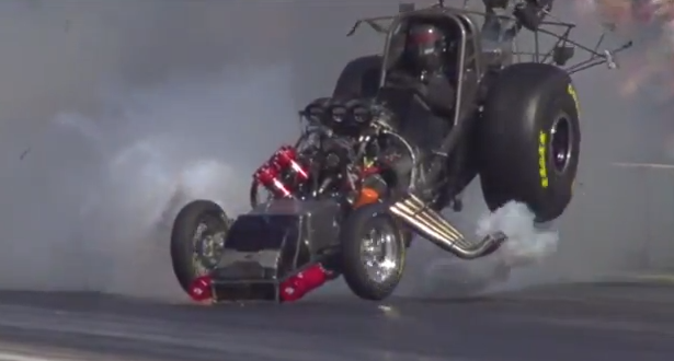 Friday BOOM: Todd Lesenko's Violent Nitro Funny Car Explosion At Pomona 2012 – Incredible Slo-Mo Footage!