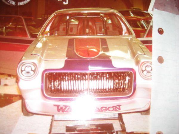 CL AD LINK THE WAR WAGON 1971 VEGA SHOW CAR