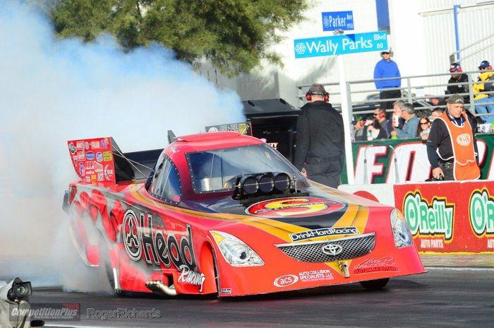 Chad Gets To Drive A Big Show NHRA Fuel Funny Car!