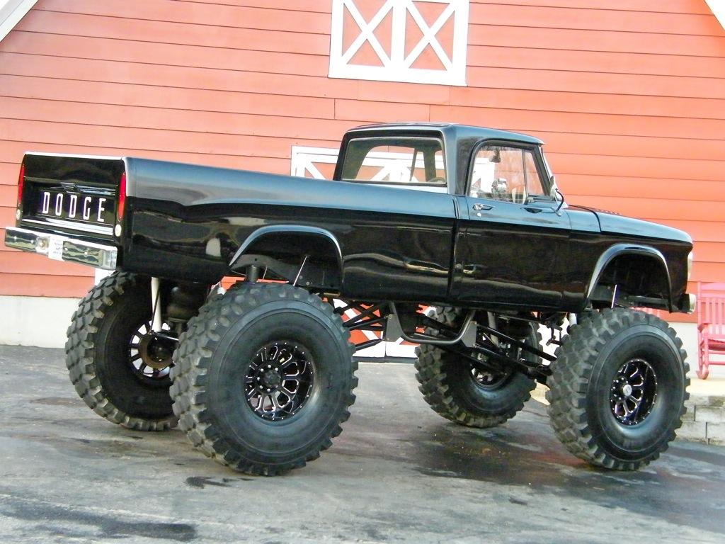 ebay find a monstrous 1967 dodge sweptline show truck rolling on 53 rubber. Black Bedroom Furniture Sets. Home Design Ideas