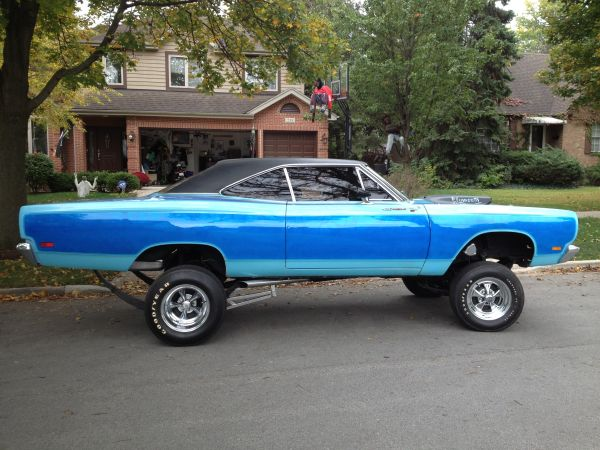 Craigslist Find: A Legit 1970s Built 1969 Plymouth Road Runner Street Freak!
