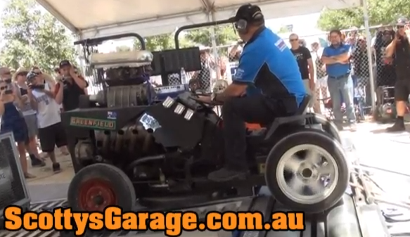 BangShift.com Video: Watch A Wild V8, Zoomie Piped ...