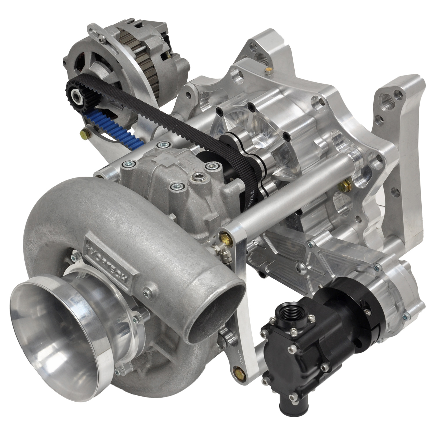 Centrifugal Supercharger Small Block Mopar: BangShift.com New CDS Alternator And Accessory Drives From
