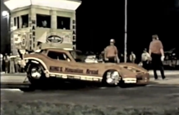 Cool Old Drag Video: Ron Colson and Gary Burgin in the Funny Car Finals at US131 Dragway Circa 1980