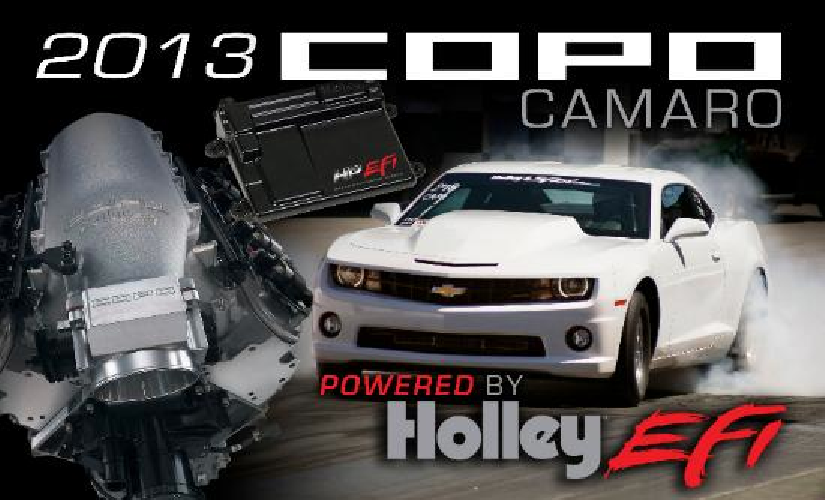 BIG NEWS: All New COPO Camaros Will Be Holley Equipped! HP EFI Is Standard