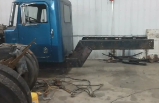building a hot rod truck