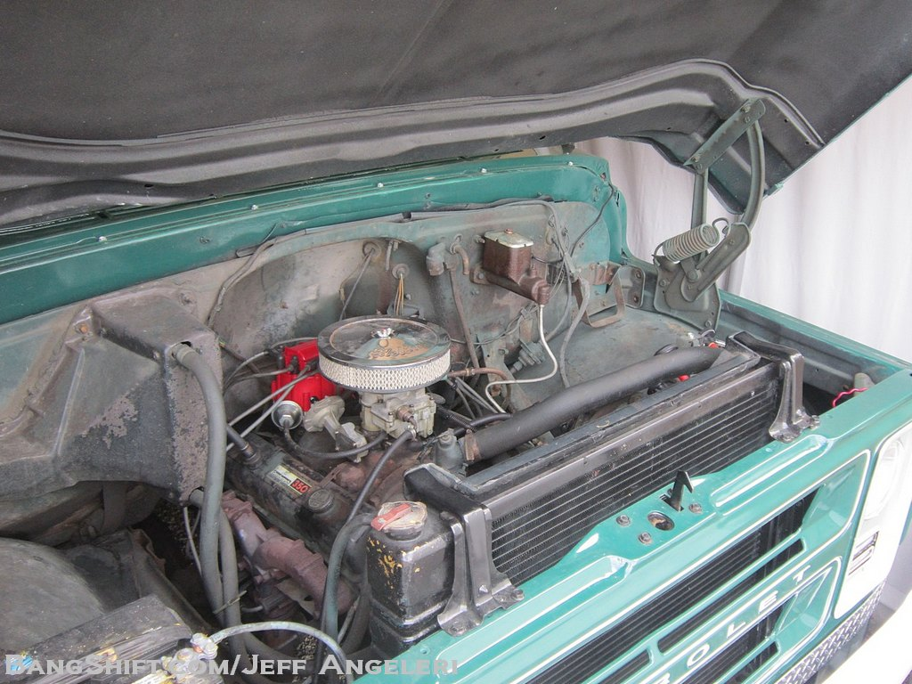 BangShift com Goliath's Younger Brother! A 1972 Chevy C50