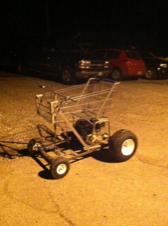 BangShift com Craigslist Find: A Shopping Cart Kart