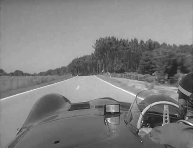 Ride With Mike Hawthorn As He Laps Le Mans In A D-Type Jag Circa 1956! With Commentary