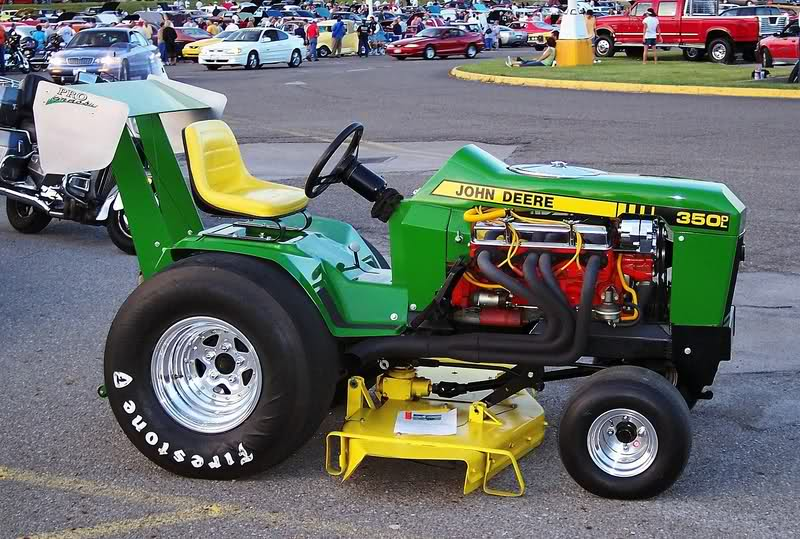 "John Deere Announces Intent To Take ""World's Fastest Lawnmower"" Title: Lohnes Will Drive"