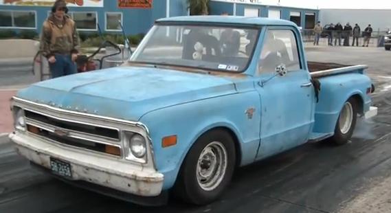 Bangshift Com Video A Tattered Sleeper Chevy Truck Runs