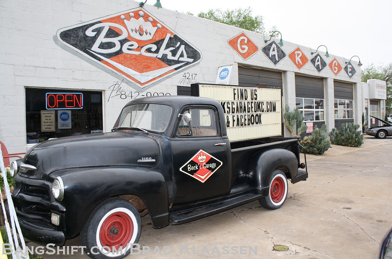 Shop Tour: Beck's Garage in Oklahoma City. A Route 66 Destination For Sure