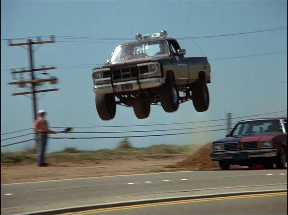 Celebrity Car Death Match The A Team Van VS Fall Guy Truck