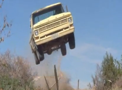 Ron Norris Ford >> BangShift.com Celebrity Car Death Match: The Indestructible 1968 Ford F-100 From Mr Majestyk VS ...
