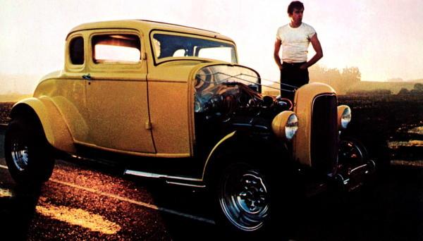 Celebrity Car Death Match: John Milner's Deuce VS The California Kid 1934 Ford!