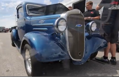 1320 Video Sunday: 8 Second '36 Chevy Pickup!!! And It's A 6 Cylinder!