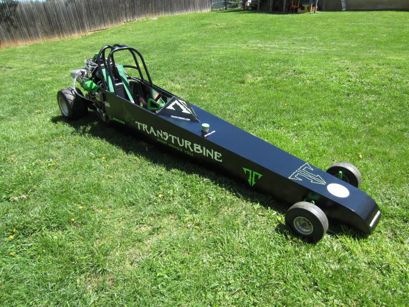 Insane eBay Find: A Freaking Turbine Powered Junior Dragster