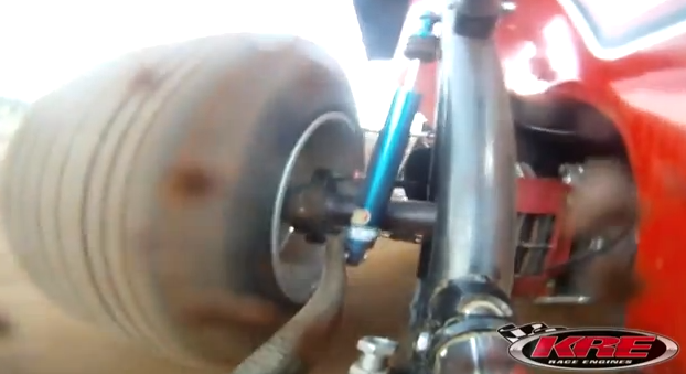 Watch An AFCO Shock Get Put Through Its Paces On A Sprint Car Down Under!