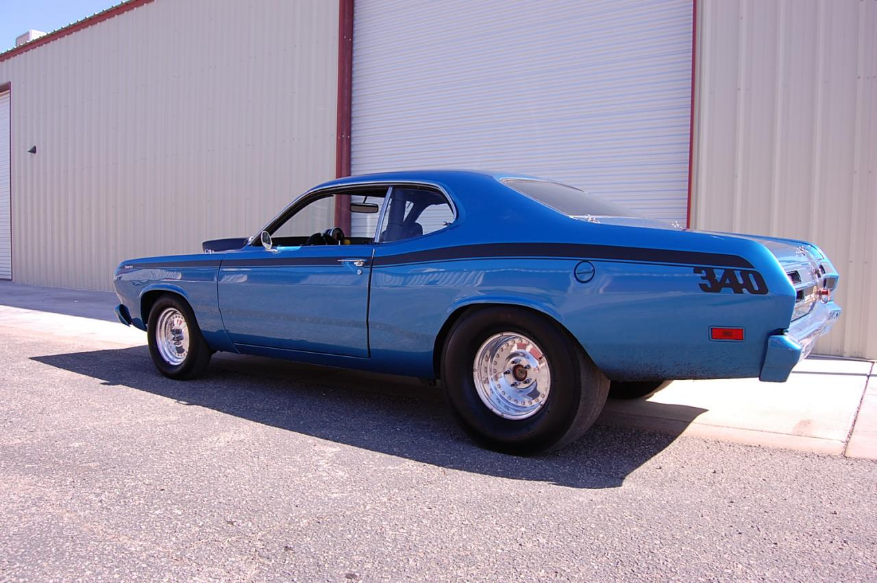 Bangshift Com Ebay Find 1971 Plymouth Duster Super Stock
