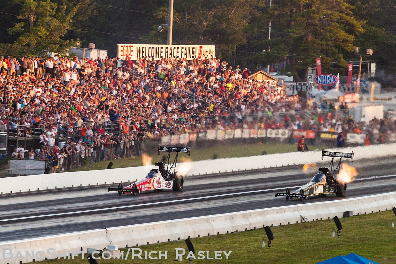 NHRA Coverage: Uni-Select Auto Parts New England Nationals — SUNDAY RESULTS