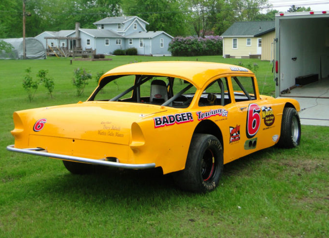 ebay find an ultra bitchin 1955 chevy vintage stock car cheap. Black Bedroom Furniture Sets. Home Design Ideas