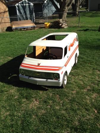 BangShift com Craigslist Find: A Cool 1970s Chevy Van Go Kart That
