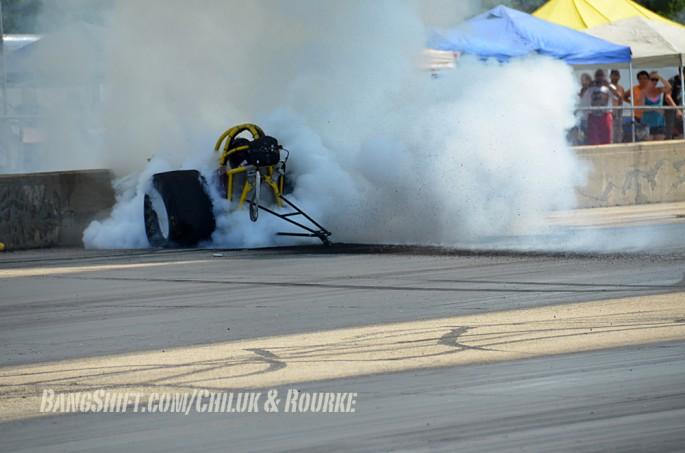 Meltdown Byron Dragster Crash 001