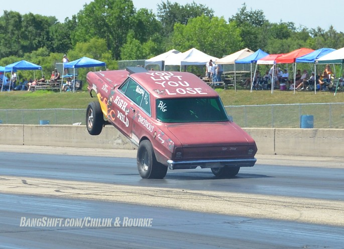 Meltdown Drags At Byron Racing Action Gassers, Wheelstands, More 049