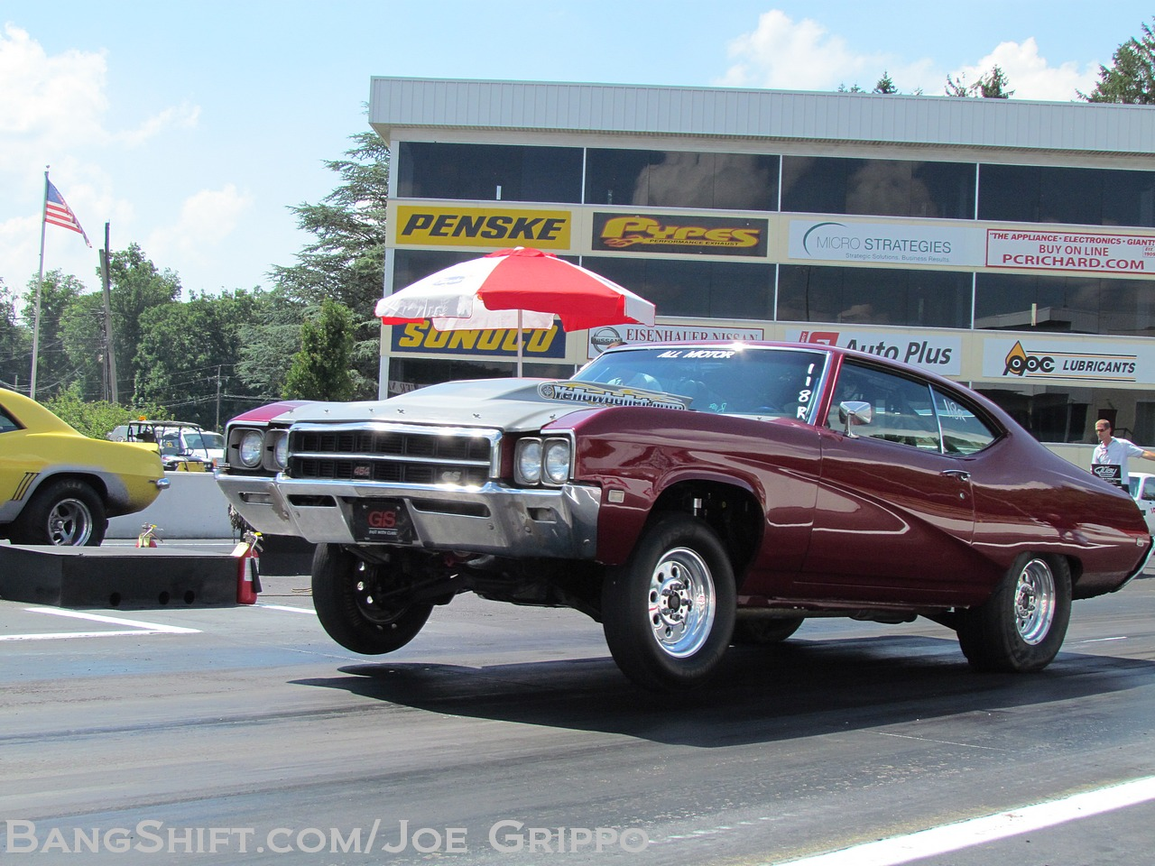 Drag Gallery: Rumble At The Grove 2013 – Doorslammers Only! Wheels Up Action!