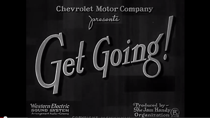 """Video: Chevrolet Presents """"Get Going"""", A 1936 Explanation Of Acceleration"""