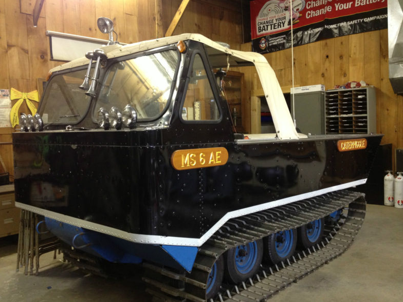 Ebay Find: A Thiokol Model 1300 Swamp Cat Amphibious Tracked Recovery Vehicle