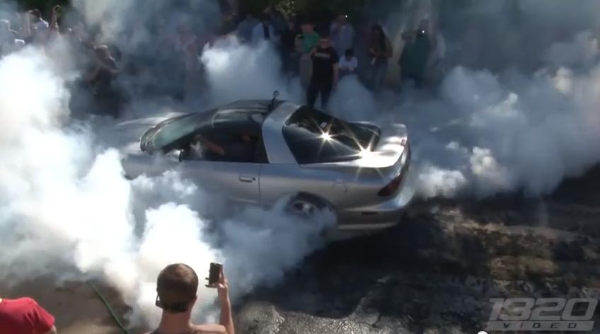 Burnout Video: The 1320Video RPM Powersports 2013 Burnout Contest Part 1