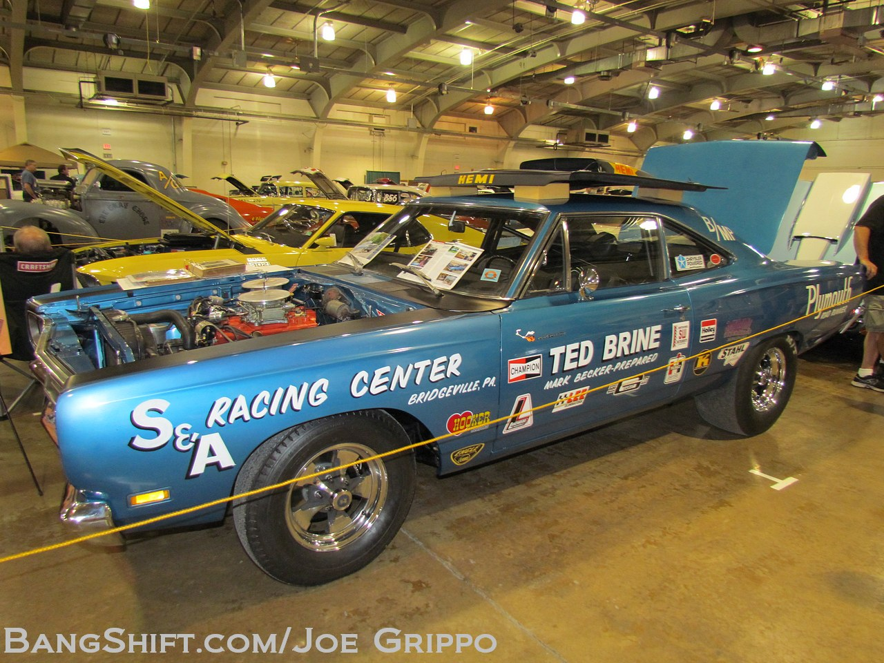 Bangshift Com Gallery The Annual Muscle Car Madness At The