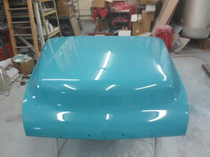 """""""...and hood painted. """""""