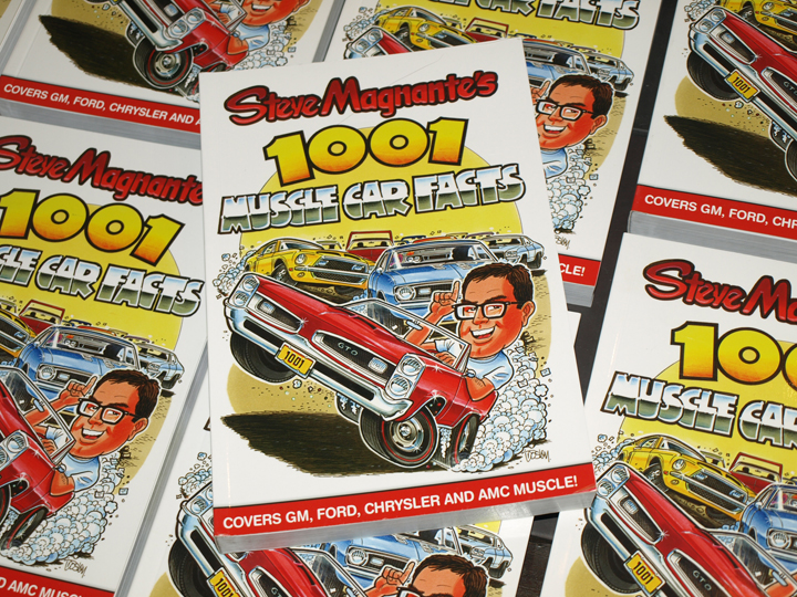 Buy The Book: Steve Magnante's 1001 Muscle Car Facts