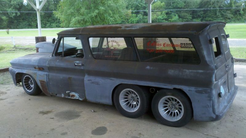 BangShift com eBay Find: A Weird 1965 Chevy Suburban With An Extra