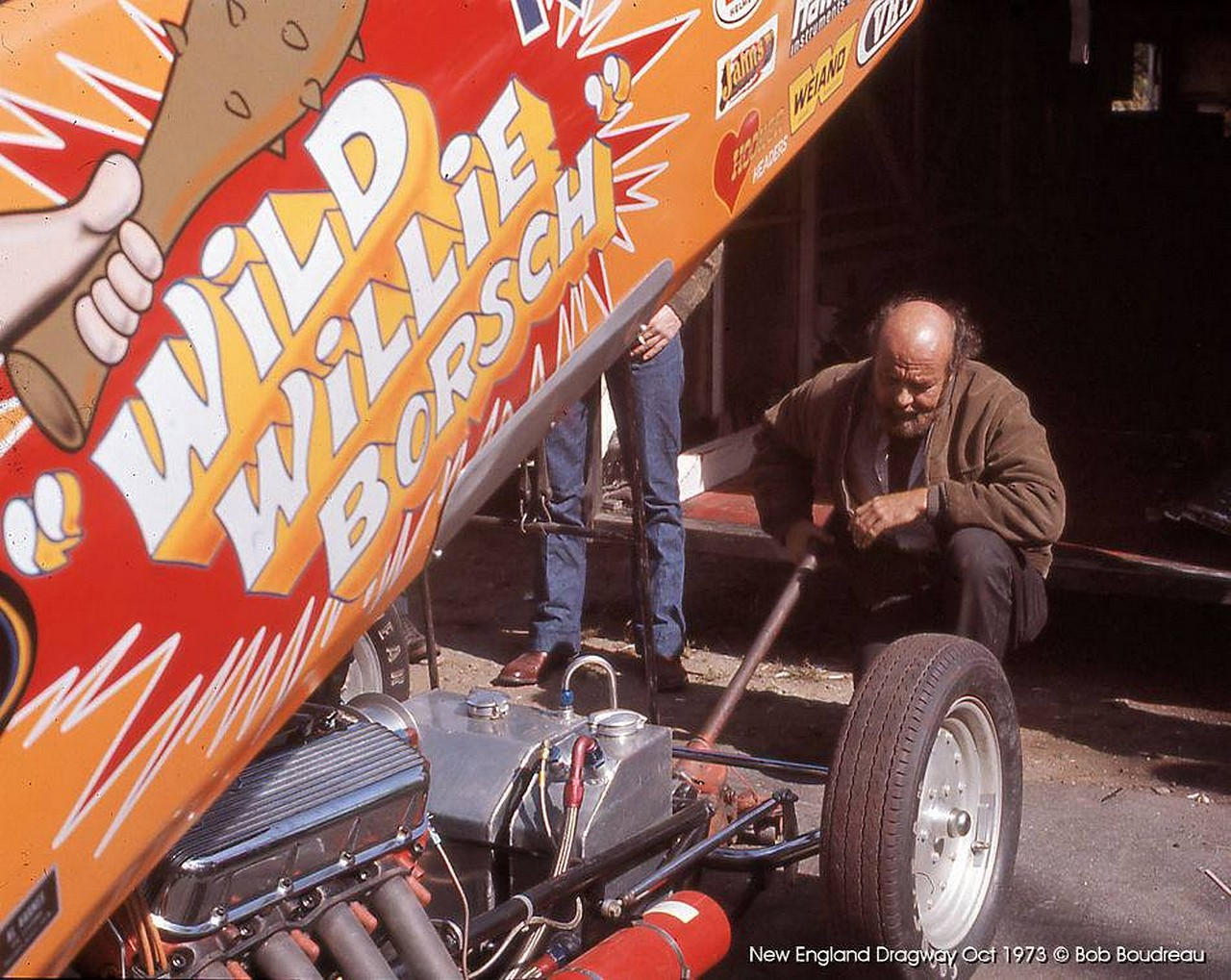 Bitchin' 1970s Photos From New England Dragway – Willie Borsch, Muldowney, More!