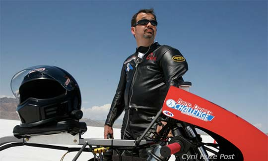 Blind Man Sets Record At Bonneville! On A Motorcycle No Less