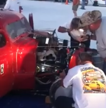 Quick Videos: The Sights Ad Sounds Of Nitro On the Salt At Bonneville Speed Week