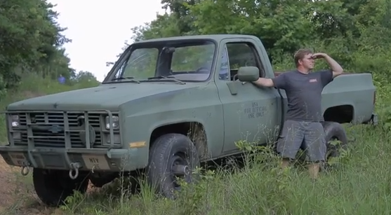 Video: Bringing An Old Army Truck Back To Life And Four Wheeling It In Alabama – Dirt Every Day!