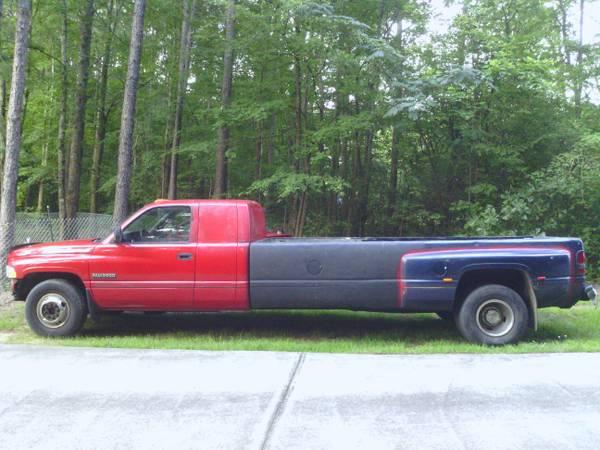 Dodge on Dodge 2500 Long Bed Flatbed