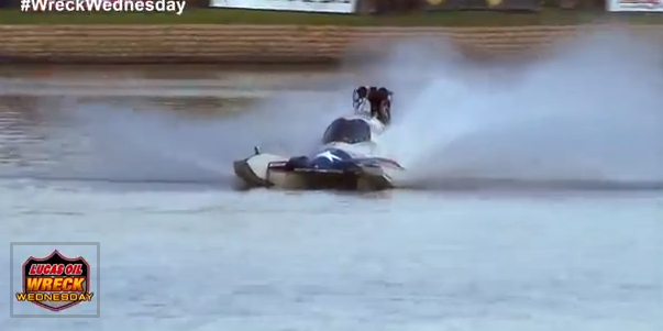 Video: A Wild Drag Boat Save and Sink – No Wreckage, Amazing Driving, Then Cue The Rescue Drivers!