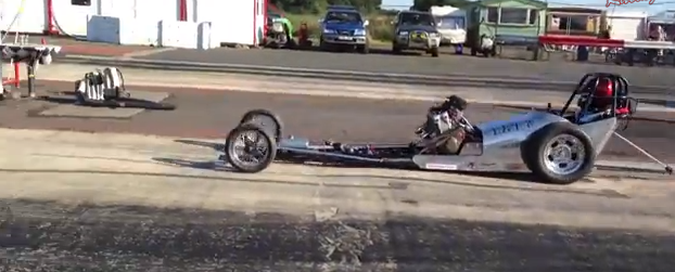Video: The Miniature Slingshot From The Postman Pat Guys Hits The Strip!