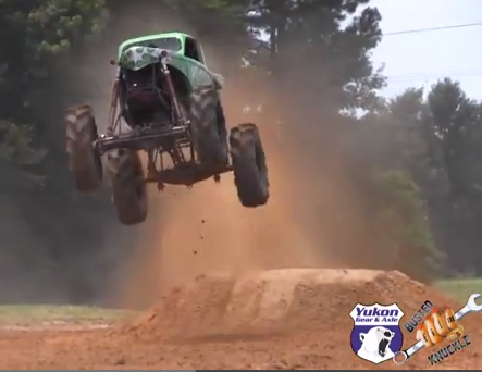 Video: Watch Dennis Anderson Go Completely Crazy In The King Sling Mud Truck – Bonus Epic Save!